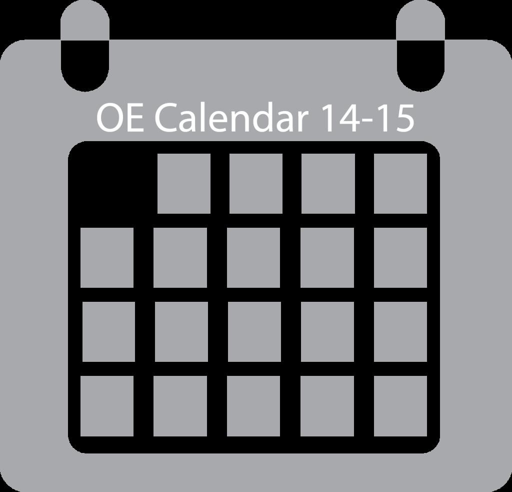 grey calendar